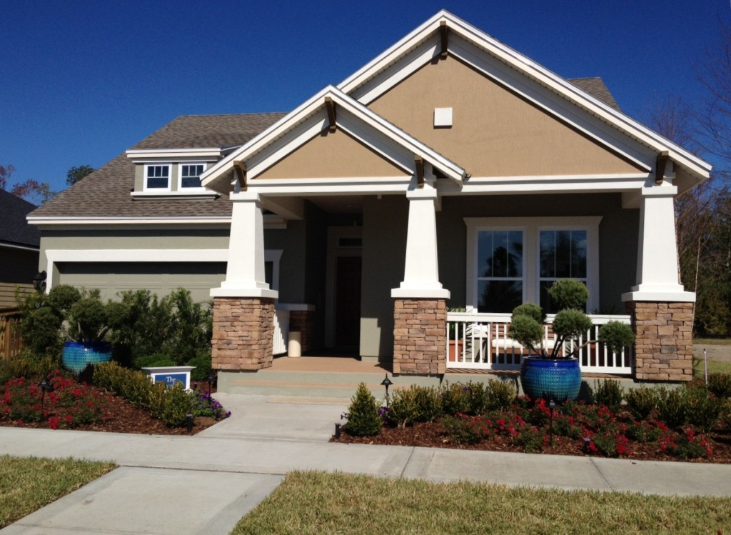 David weekley homes and dennis homes open new models at for Modern model homes