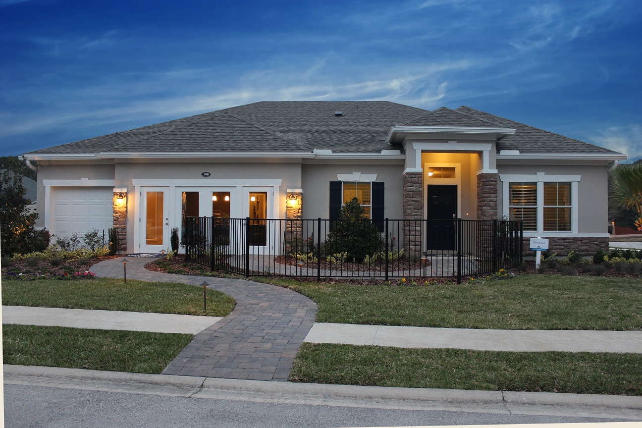 Lennar homes opens new model home at coronado what 39 s up for Beautiful model house
