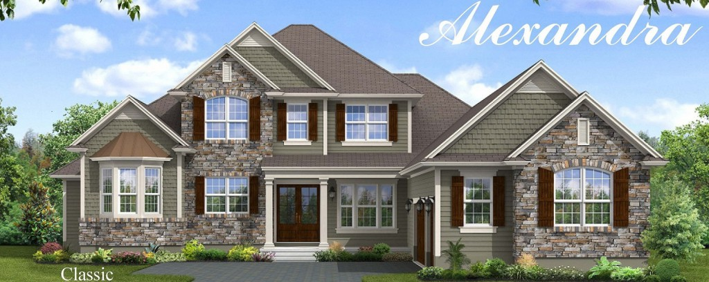 Dostie homes new model featuring the alexandra floor New home models