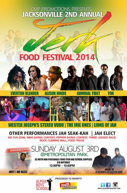 Jacksonville S Annual Jerk Food Festival