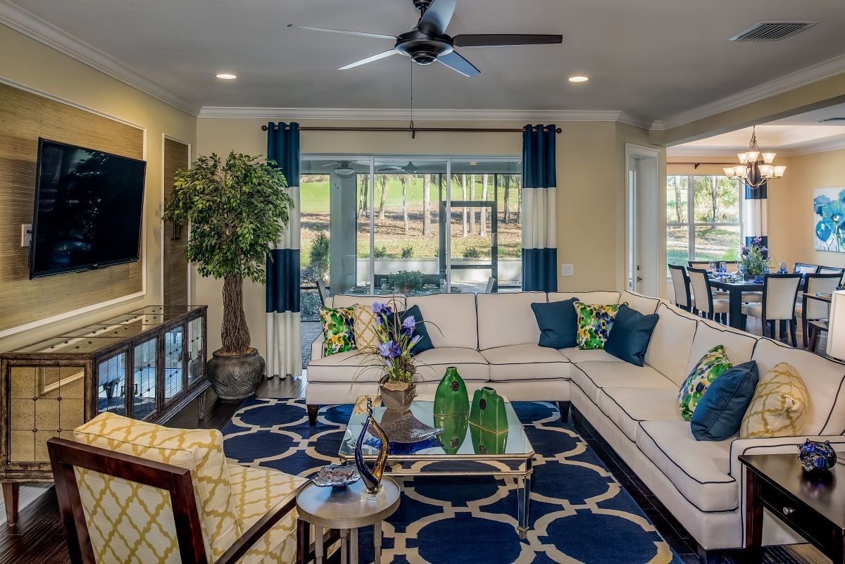 Greenpointe homes unveils new pinemore model at southern for Interior designs new homes