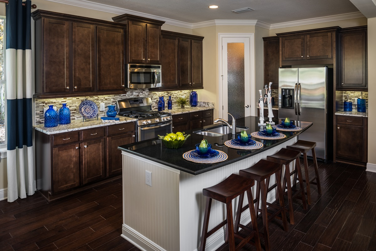 Greenpointe homes unveils new pinemore model at southern for New model kitchen design