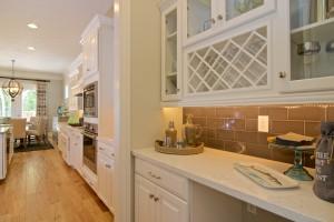 Showhome interior kitchen space