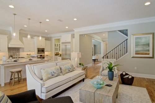 Muirfield living and kitchen