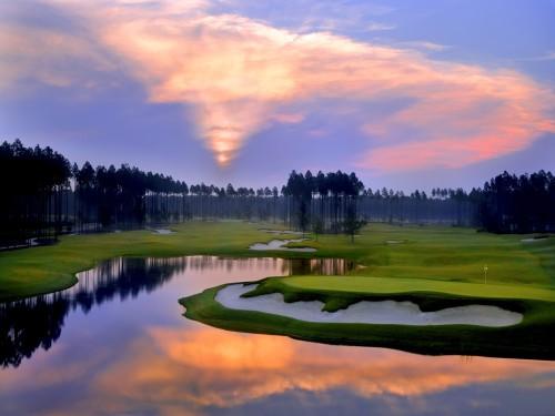 Amelia National Golf Sunrise
