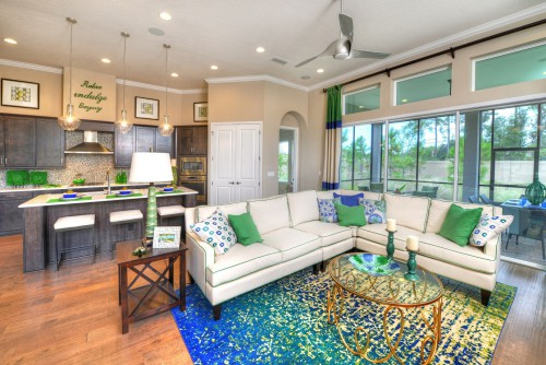 Fully furnished and decorated model homes for sale at tamaya what 39 s up jacksonville - Who decorates model homes image ...