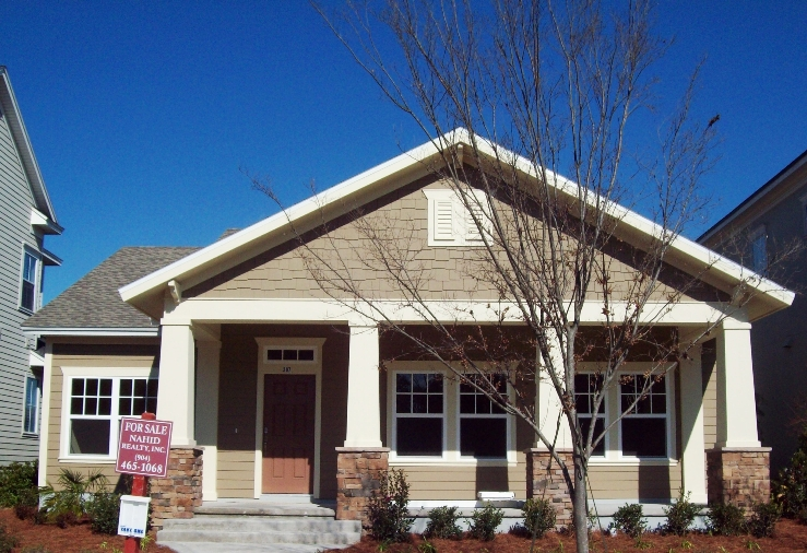 David weekley homes announce two new homes ready for move for Arts and crafts porch columns