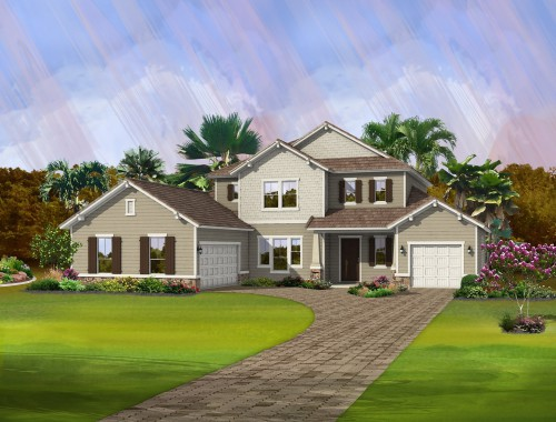Fairwater Craftsman Rendering