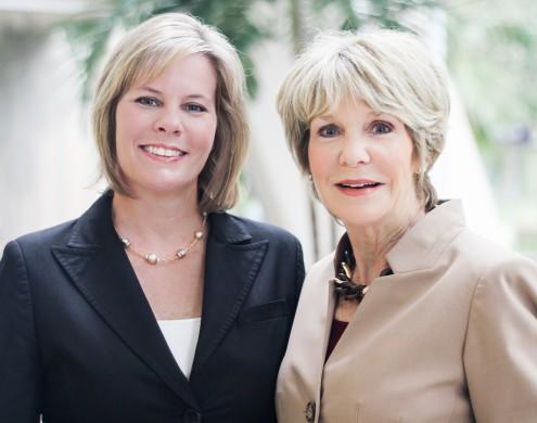 Christy Budnick and Linda Sherrer