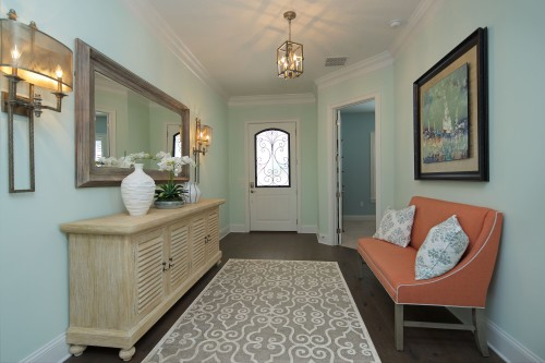 Windward Model foyer