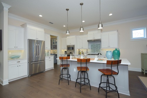 Windward Model kitchen