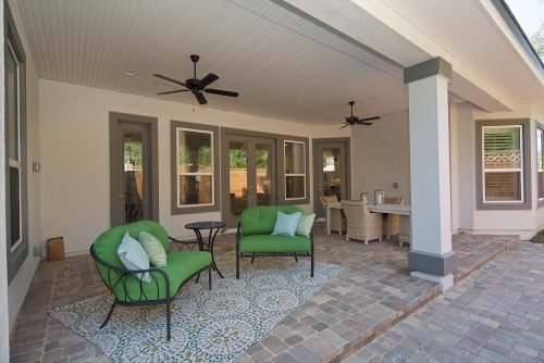 Windward Model outdoor living