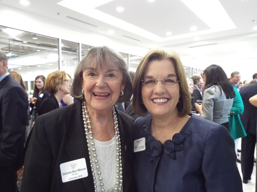 Delores Barr Weaver and Nina Waters