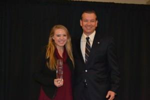 Jenn Stewart and D. Ginder NEFBA Builder of Year Jan 2017